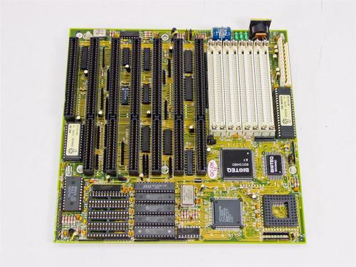 Biostar 1340AEQ-K  386 System board AM386 DX-40 Chip Microtech