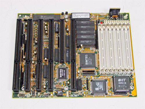 Biostar 1340UCQ  Microtech 386DX-40 Motherboard Vintage
