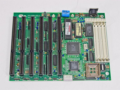 Milltronics  200-03690-330-2   386sx-40 6X ISA Slots Motherboard Vintage