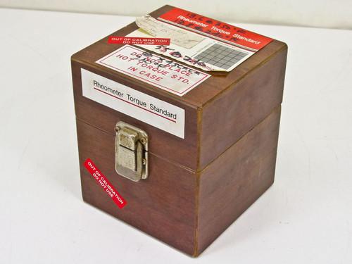 Monsanto 032-01  Rheometer Torque Standard 12A268