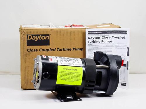 Dayton 4P915B  Close Coupled Turbine Pump
