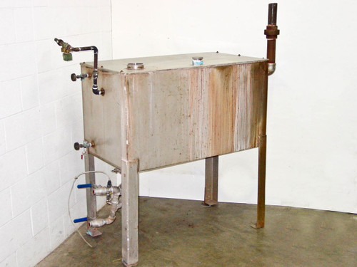 Stainless Steel  100 Gallon  Tank with Stand