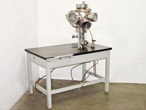 MDC MFG INC Stainless Steel  Vacuum Chamber with Cooling Jacket Feedthroughs