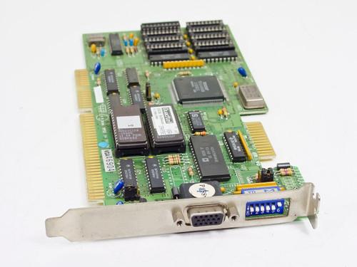 Trident  TVGA8900B   16bit ISA Dual EGA/VGA Card Quadtel Bios Vintage