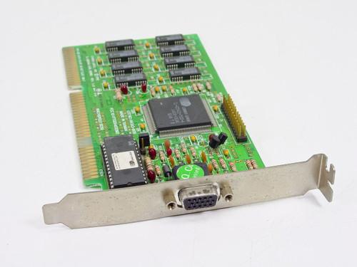 Cirrus Logic CL-GD5422-75QC-A  16 Bit ISA 15 Pin Video Card Machspeed 9239