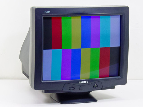 "Philips 107E66  17"" CRT Monitor with VGA Port"