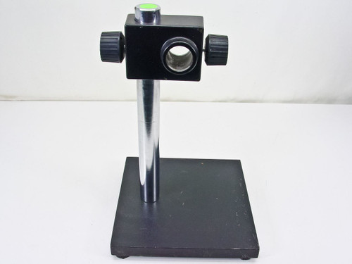 "Microscope 14.25"" Tall  Mounting / Positioning Stand with 1.5"" Thick Post"