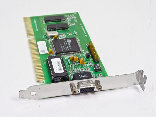 STB 1X0-0264-607  ISA VGA Card Cirrus Logic CL-GD5428-80QC-A