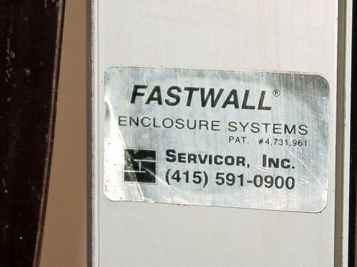 Servicor Fastwall  Enclosure System Cleanroom Contamination Control Walls