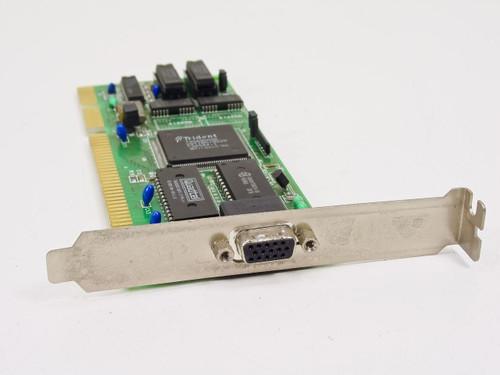 Trident JAX-8216A/V1  16 Bit ISA 15 Pin Video Card