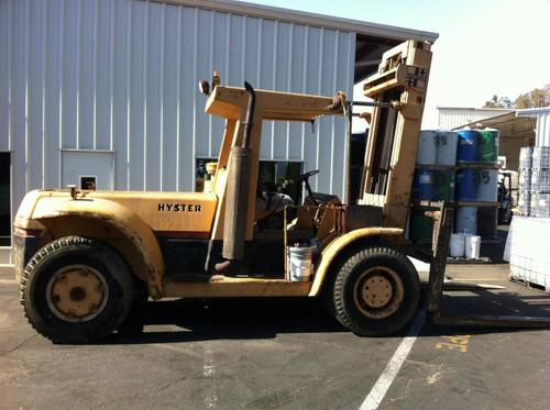 Hyster H300A  15 Ton 30,000 Pound Diesel Forklift 1970
