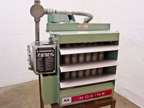 Modine HEX412-480360-10  10 KW Explosion Proof Electric Heater 480 Volts 3 Phase 12.0 Amps
