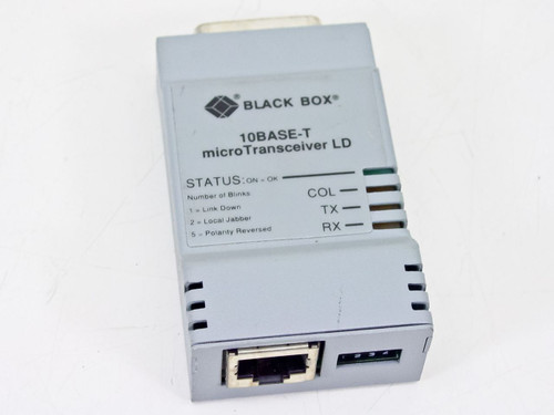 Black Box LE2110A  10Base-T Microtransceiver LD