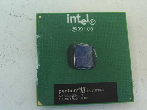 Intel PIII Processor 866Mhz/133/265/1.7V Processor (SL4MD)