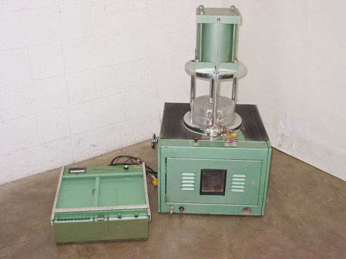 Monsanto R100  Rheometer 100 with Therm-O-Logger Chart Recorder