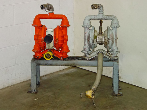 Wilden 4 & M4  2 Diaphragm Pumps with Stand