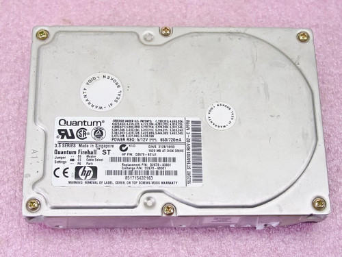 HP D2679-69001  3.5 Quantum Fireball ST 1620 MB AT HDD