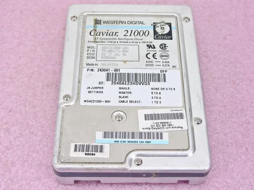 """Compaq  185959  1.0GB 3.5"""" IDE Hard Drive WDAC21000"""