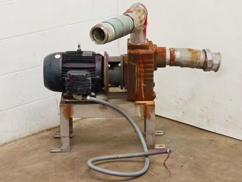 AMT 2876-95  Self Priming Centrifugal Pump with 7.5HP Motor