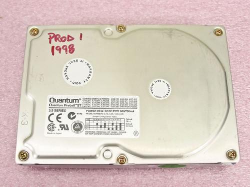 Quantum  ST32S011  3.5 Fireball 3.2 Gig SCSI Hard Drive