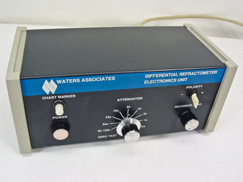 Waters Associates R-401  Differential Refractometer Electronics Unit