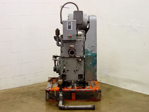 Kinney Vacuum Co. KT-150A/B  Triplex Pump for Parts or Repair w/ Allen Bradley Control Box