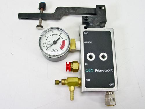 Newport EXH  Valve Kit, with Gauge