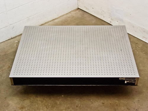 "Newport Stainless Steel  4' by 3' by 4"" Optical Breadboard Vibration Isolation Table"