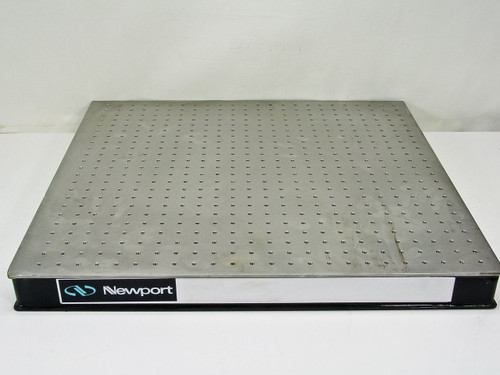 "Newport 25.5"" x 24"" x 3""  Sealed Hole Optical Breadboard Table Top"