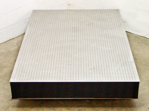 """Newport RS 2000  6' by 4' by 8"""" Optical Breadboard Table Top W/ Tuned Damping"""