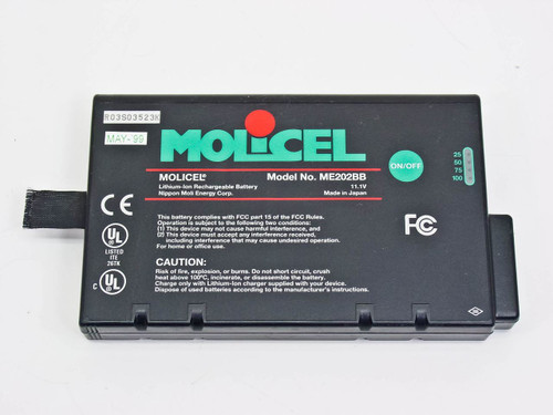 Molicel  ME202BB  Lithium-Ion Rechargeable Battery 11.1V