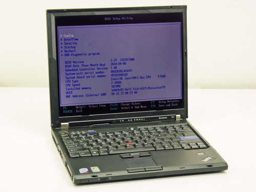 Lenovo T61  Intel Core 2 Duo 2.2GHz, 1GB RAM, 100GB HDD
