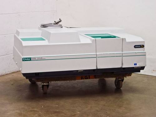 Varian Cary 500i  UV-Vis-NIR Spectrophotometer Partially Tested