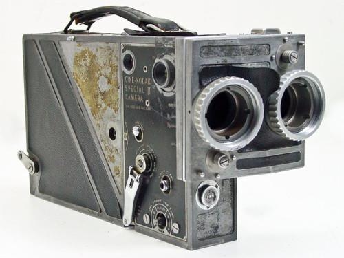Cine Kodak Special II  16mm Movie Camera - No lenses, No magazine - As Is