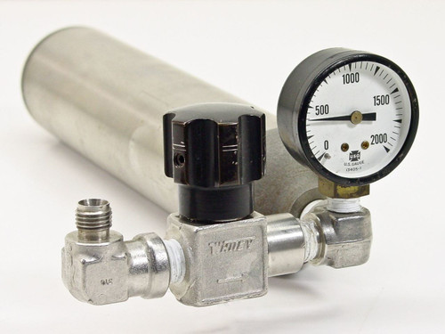 Hoke DOT 3E1800  Spun Sampling Cylinder