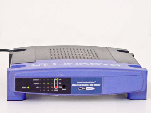 Linksys  BEFSR41B  EtherFast Cable/DSL 5 Port Instant Broadband Route