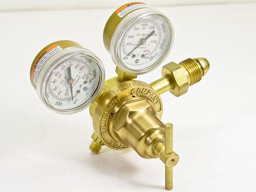 Victor SR 250 D  Compressed Gas Oxygen Regulator