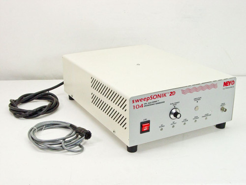 NEY Ultrasonics SweepSonik 2D  104KHz Dual Sweep Microsonic Ultrasonic Generator