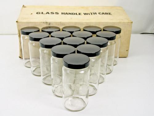 Qorpak All-Pak 16FL. OZ (473mL)  Glass Jars - Box of 15