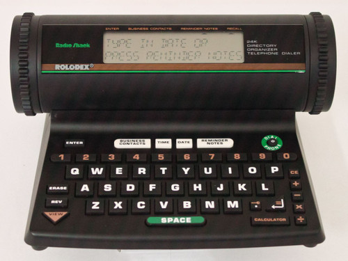 Radio Shack EC-333  24K Rolodex Directory Organizer Telephone Dialer