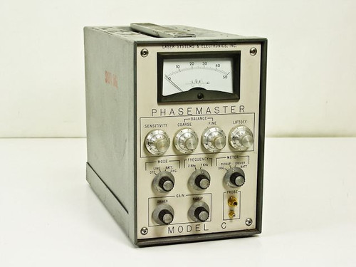 Laser Systems & Electronics Inc Model C  Vintage Phasemaster