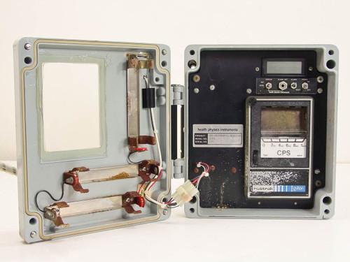 Health Physics Instruments  3024  Environmental Monitor w/ Rustrak Chart Recorder