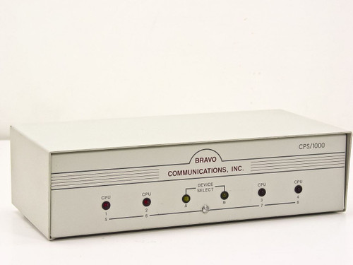 Bravo Communications CPS/1000  1082 8 Port Networking Switch