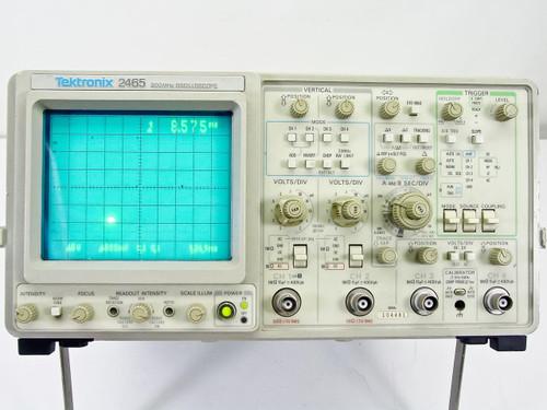 Tektronix 2465  300 MHz Oscilloscope