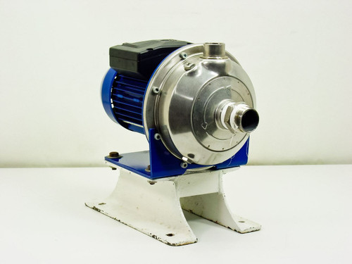 Lowara CEAM 80/5  Horizontal Single Impeller 316 Stainless Steel Pump