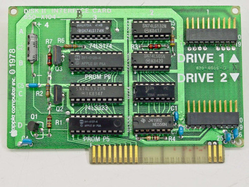 Apple 650-X104-B  Disk II Interface Card