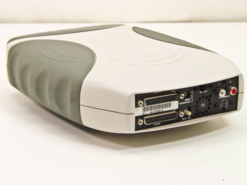 QueDrive QPS-525  CD-RW 25 Pin SCSI 24x10x40 External Drive - No AC Adapter