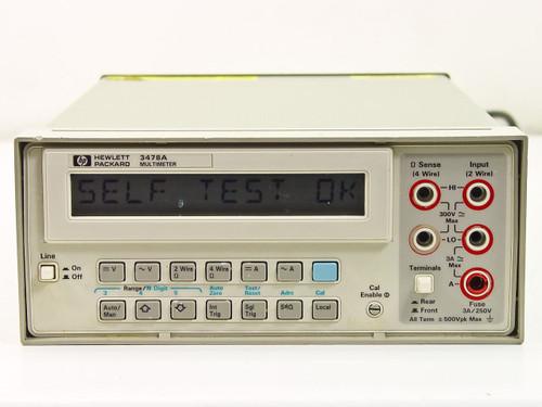 HP 3478A  Digital Programmable HPIB Multimeter