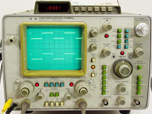 HP 1740A  Oscilloscope OPT 034