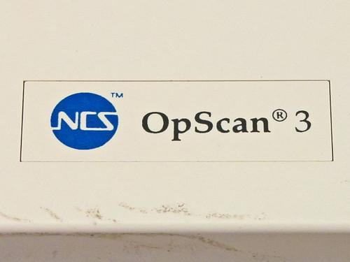 NCS SCAN10XA  OpScan 3 OMR Optical Mark Reader Scanner